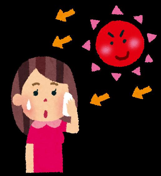 DH岡田「春から紫外線対策を!」