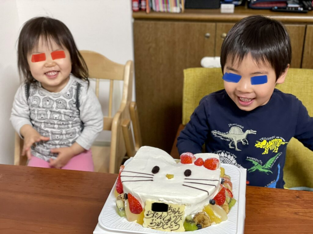 DH前川「わが子のお誕生日」